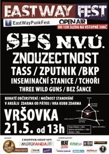POZVÁNKA NA EASTWAY FEST DO VRŠOVKY 21.5.2016